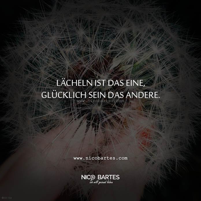 Lacheln Und Glucklich Sein Spruch Des Tages Nico Bartes