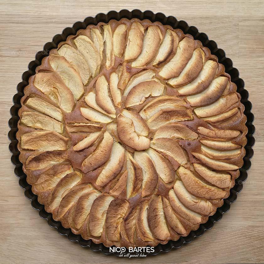 Gesunder Apfelkuchen   Einfach und schnell zubereitet