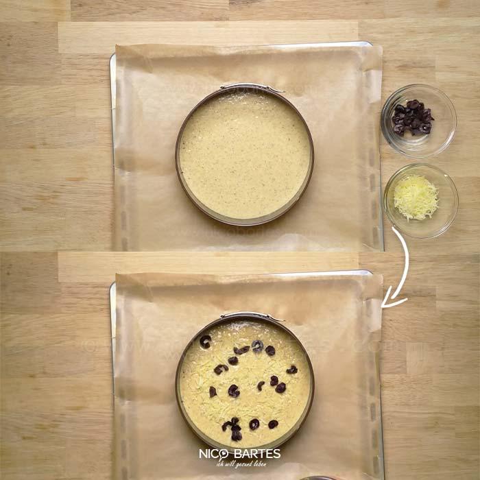 low carb pizza rezept mit oliven nico bartes. Black Bedroom Furniture Sets. Home Design Ideas