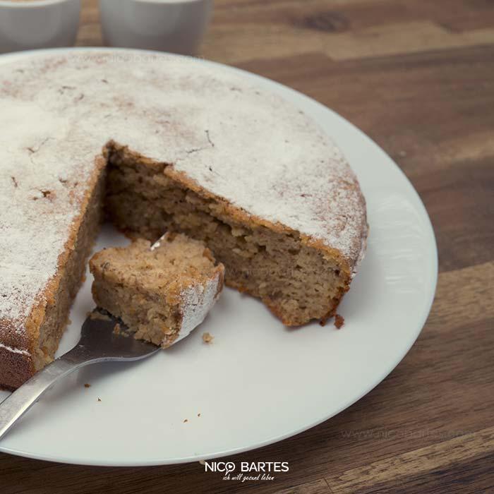 Low Carb Fitness Kuchen Mit Apfel Und Viel Eiweiss Nico Bartes