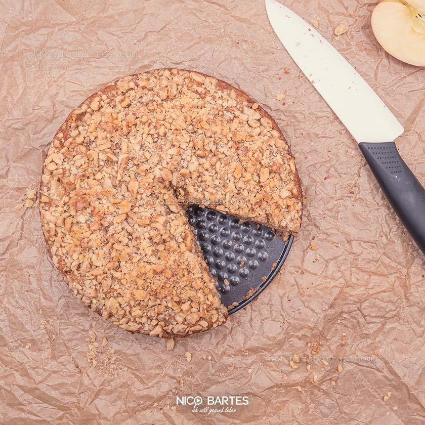 Schneller Low Carb Apfelkuchen – Einfach & lecker