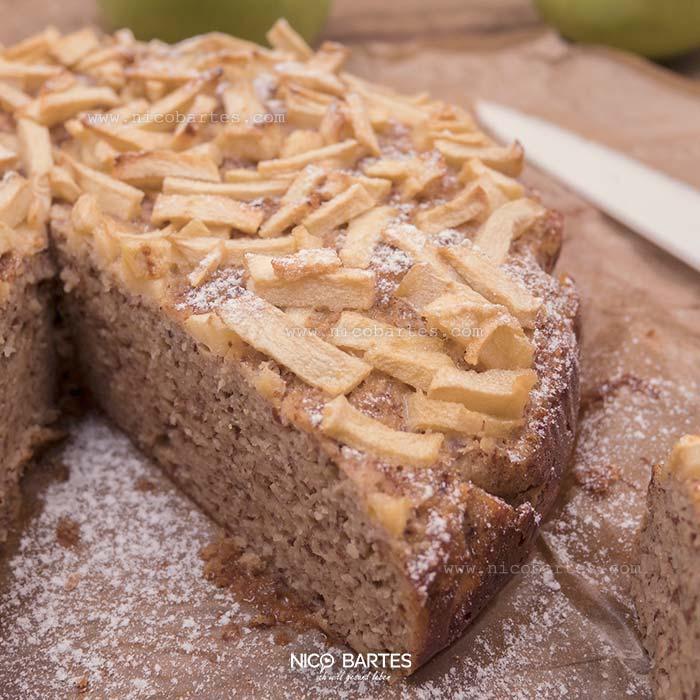Wirklich Schneller Low Carb Apfel Kuchen Mit Nussen Nico Bartes