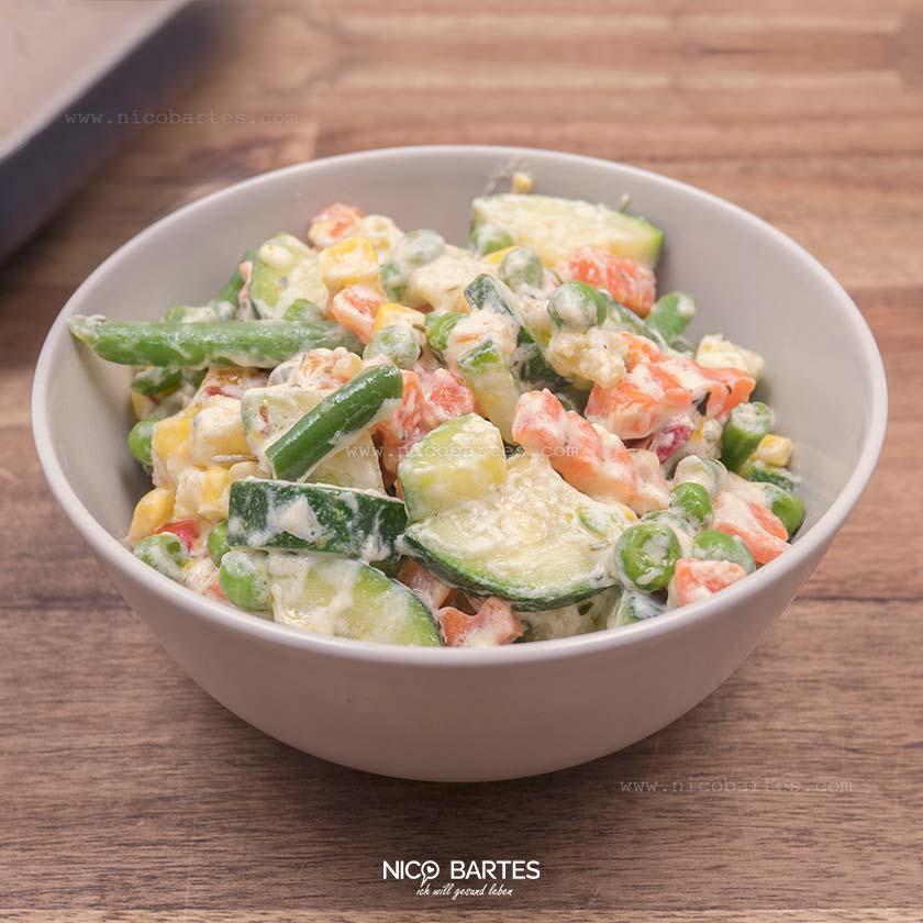 Gesunde Gemüsepfanne | Vegetarisch – Vegan – Low Carb